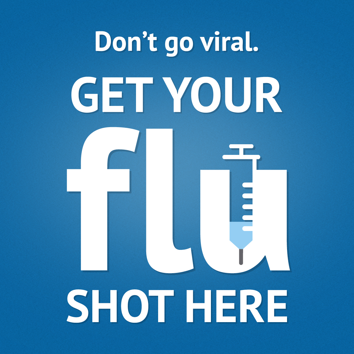Flu Shots Are In!