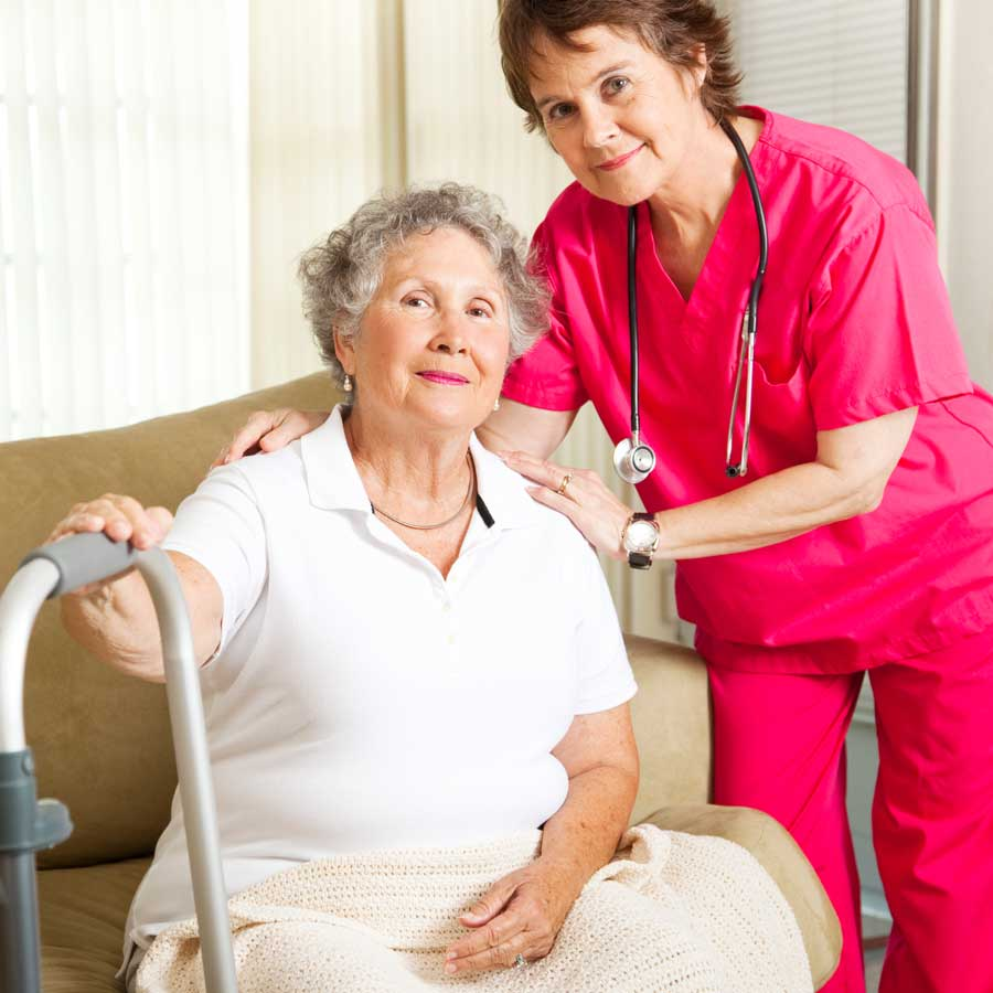 What home health care products and services are offered?